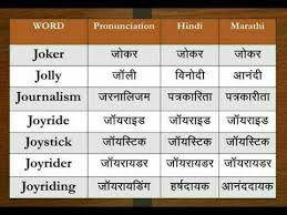 The symbol from the international phonetic alphabet (ipa), as used in phonetic transcriptions in modern dictionaries for english learners — that is, in a. Dictionary Alphabet J Learn All Words In English Hindi Marathi Youtube