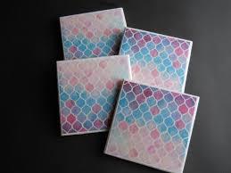 Decorative Tile Coasters Moroccan Coasters Mosaic Coasters Drink Coasters Decorative 19