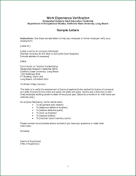 Job Letter Template From Employer Employment Verification Letter Template Pdf Samples Letter Cover
