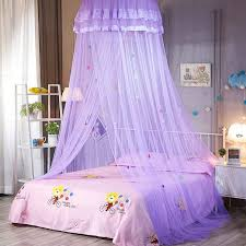 Round Baby Bed Mosquito Net Bedroom Decorative Dome Hanging Bed Canopy Mosquito Tent Curtain Canopy Circular Mosquito Net V3
