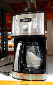 Sixty second reset recalls your setting in case of a power outage. Costco Sale Cuisinart Perfectemp 14 Cup Coffeemaker 49 99