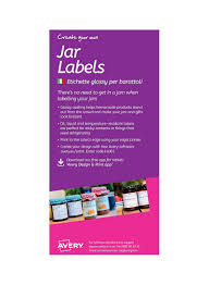 Avery Jar Labels Shop Avery 12 Piece Jar Label Set Online In Dubai Abu Dhabi And All Uae
