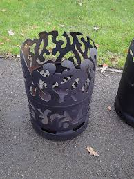 fire pits made from upcycled gas bottles de