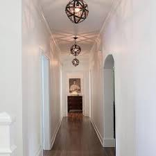 armillary sphere hallway pendants
