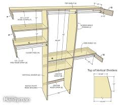 closet rod and shelf dimensions wire combo kits standard bedroom