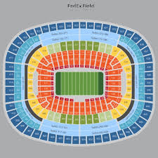 fedex field seat map fedex field seating chart fedex field tickets fedex field maps 521 x