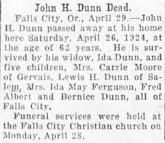 Obituary for John H. Dunn (Aged 62) - Newspapers.com