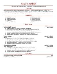Stunning Product Manager Resume Samples Fresh Resume Cv Cover Letter