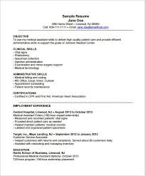 Examples Of Office Assistant Resumes 7 Legal Administrative Medical  Assistant Skills Resume
