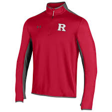 under armour 1 4 zip pullover. men\u0027s under armour scarlet rutgers knights quarter-zip pullover jacket 1 4 zip 7