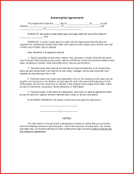 Simple Contract Agreement Form mutual agreement sample reference ...