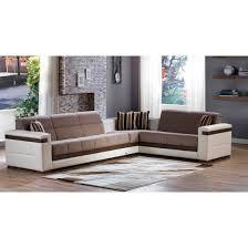 moon fabric pu l shaped sectional sofa