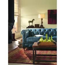 blue leather sofa interesting idea blue home decorators collection sofas loveseats