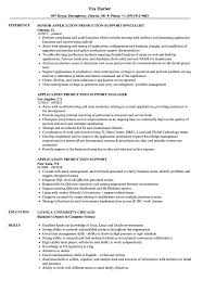 Production Support Resume Application Production Support Resume Samples Velvet Jobs 1