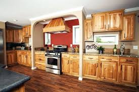 Hickory Wood Kitchen Island Luxury Cabinets With Black  Countertops Hickory Wood Cabinets 770