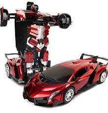Hope you guys enjoyed this video! Gamt Children S Toys Transformers Remote Control Car Deformation Of Robot Lamborghini Veneno Red Wine Visit The Image L Toy Car Remote Control Cars Car Model