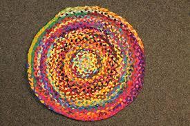home design interesting round rag rug round choti jute multi colour rag rug 150cm large