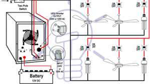 room air cooler wiring diagram 2 capacitor marking and automatic ups inverter wiring connection diagram to the home