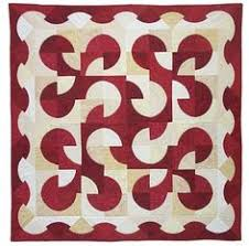 Drunkards Path Quilt Pattern Adorable 48 Best DRUNKARDS PATH Images On Pinterest Circle Quilts