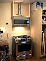 over the range cabinet. Fine Range Above Microwave Cabinet Over The Range With To W