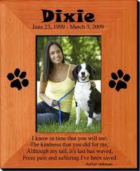 personalized pet memorials custom engraved memorial picture frames