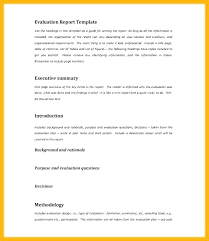 Format For An Executive Summary Executive Summary Template For Report Sample Project