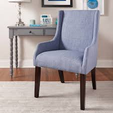 Jourdan Linen Sloped Arm Hostess Chair by iNSPIRE Q Bold - Free Shipping  Today - Overstock.com - 15857948