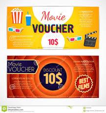 discount voucher movie template cinema gift certificate coupon discount voucher movie template cinema gift certificate coupon