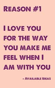 Reasons Why I Love You Quotes Simple 48 Reasons Why I Love You Love Quotes