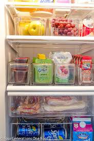 Dollar Store Magazine Holder Gorgeous 32 Tips And Tricks To Organize Your Fridge Fridge Hacks
