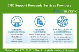 Emc Quote New Get Secure Reliable Emc Support Renewals Services Providers For