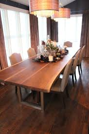 raw edge dining table. Furniture Raw Wood Dining Table Incredible Live Edge Inspiration For Your Room Custom Pics R