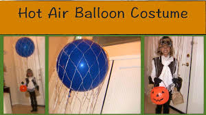 how i made a hot air balloon costume with a real balloon home made costumes you