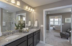 transitional master bathroom.  Transitional Transitional Master Bathroom With Custom Mirrors New Caledonia Granite  Oregon Tile U0026 Marble Avalon Cabinets With A