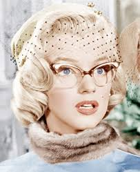 Cat Hair Style marilyn monroe rocked the cat eye frame in how to marry a 3032 by stevesalt.us