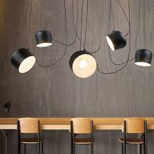 image vintage drum pendant lighting. Perfect Lighting Vintage Retro Black Drum Pendant Lights Fixtures For Dining Living Room  Industrial Decor Chambre Hanging Lamp Inside Image Lighting H