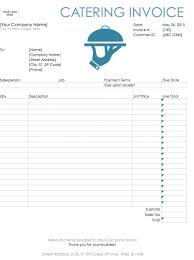 excel 2003 invoice template free receipt template excel catering invoice template excel free