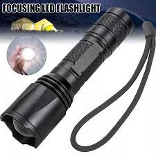 GVHJ Đèn Pin LED Đèn Pin Có Thể Phóng To Đèn Cầm Tay Bỏ Túi Lấy Nét Siêu  Sáng Điều Chỉnh Được Để Cắm Trại Chó Đi Bộ Đường Dài