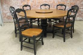 large round farm table up to 86 in diameter