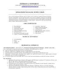 Esteban G Sanmarco Resume Supply Chain Operations 40 Delectable Supply Chain Resume