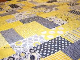 Yellow And Gray Bedspreads Gray And Yellow Baby Brick Quilt Yellow ... & yellow and gray bedspreads gray and yellow baby brick quilt yellow gray  duvet cover Adamdwight.com