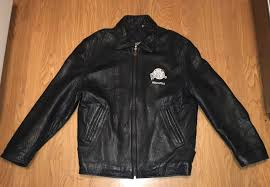 details about planet hollywood indianapolis black leather jacket men s size s nice rare