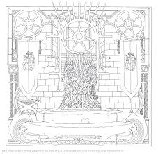 Hbo S Game Of Thrones Coloring Book Hbo 9781452154305 Amazon Com Game Colouring Book L