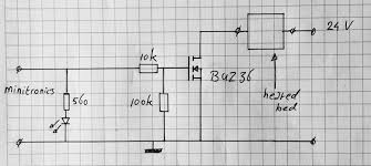 build your own heated bed for your 3dprinter cheap and easy heated bed mosfet switch circuit diagram