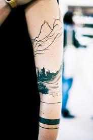 Forest Tattoo Tattoo Ideas
