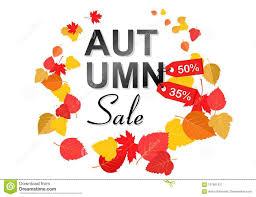 Autumn Sale Background Template Poster Card Label Banner Design