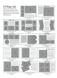 Ad Page Templates Senior Yearbook Page Templates Layout Inspirational Ad Free