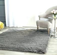 large black faux fur rug gray faux fur area rug area rugs gray faux fur rug