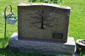 Family Monument Designs Family Tree Headstone Unusual Headstones Tombstone