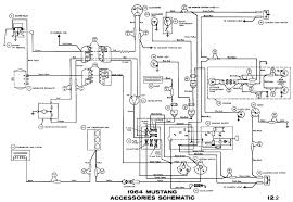 1964 mustang wiring diagrams average joe restoration 1964 mustang accessories pictorial or schematic air conditioner